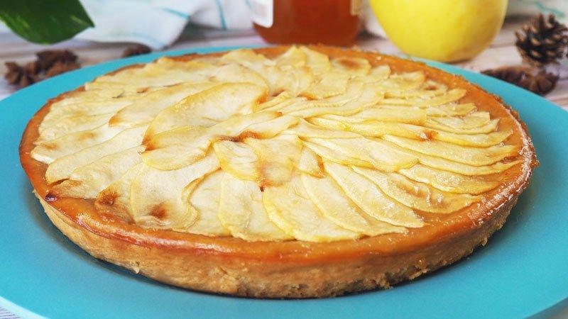 como se hace la tarta de manzana casera 3
