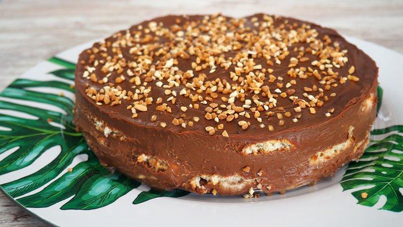 paso a paso tarta de cumpleaños con chocolate