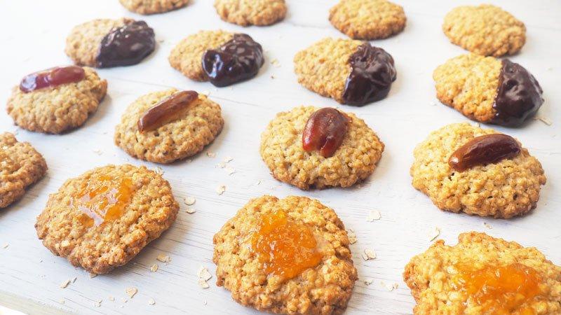como se hacen las galletas de avena caseras