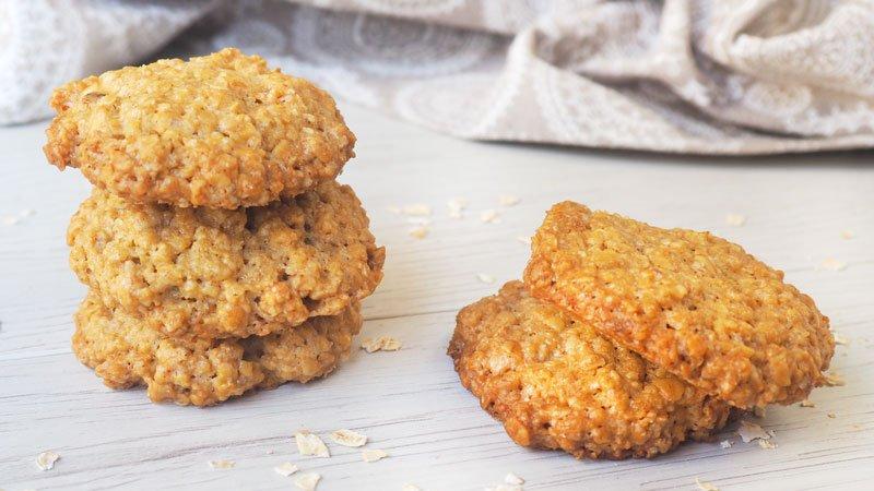 como se hacen las galletas de avena casera