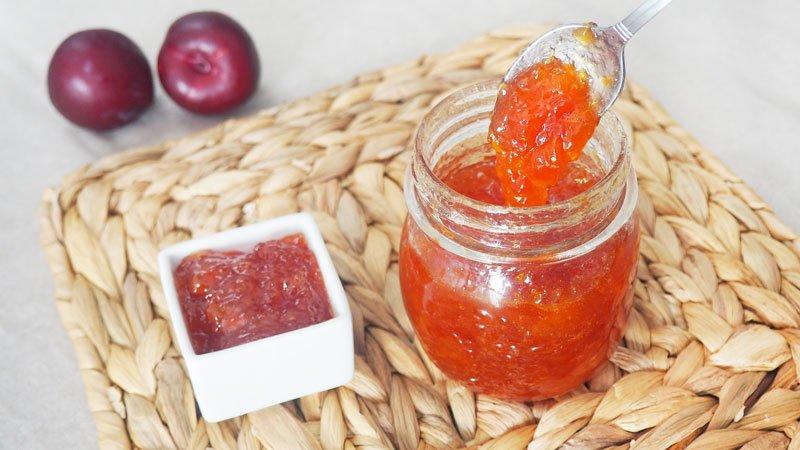 receta de mermelada de ciruelas rojas envasada al vacio
