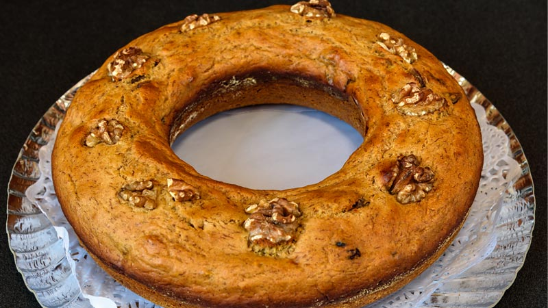 receta aprovechamiento pan de platano y chocolate