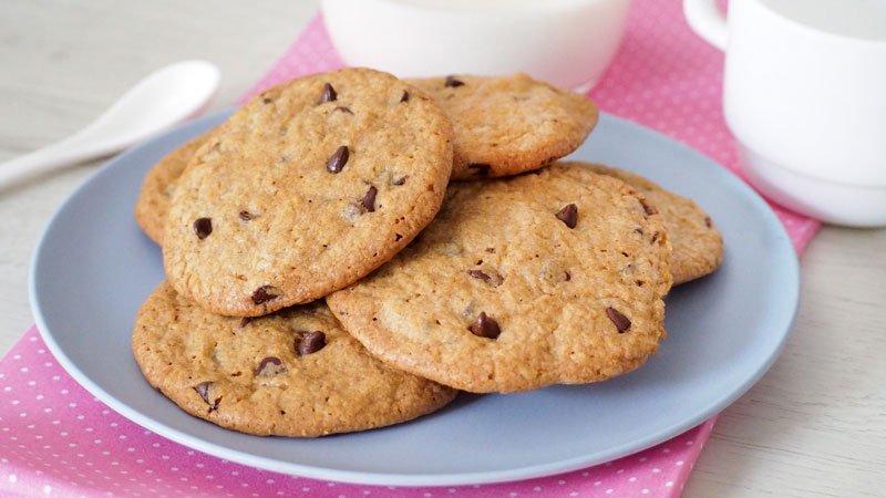 paso a paso Galletas de Mantequilla y Chocolate al estilo Americanas o Cookies
