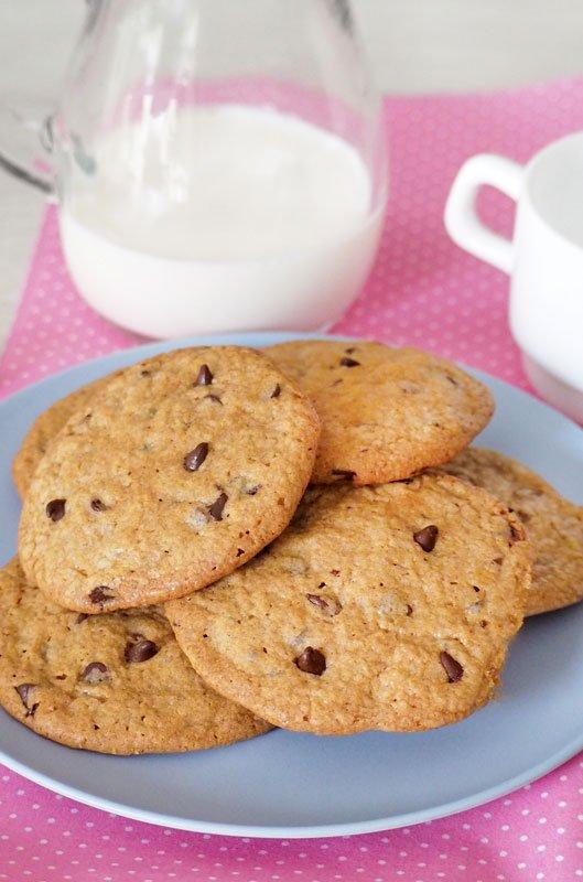 como se hacen las Galletas de Mantequilla y Chocolate al estilo Americanas o Cookies