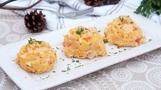 receta paso a paso ensaladilla con salsa gaucha y mahonesa