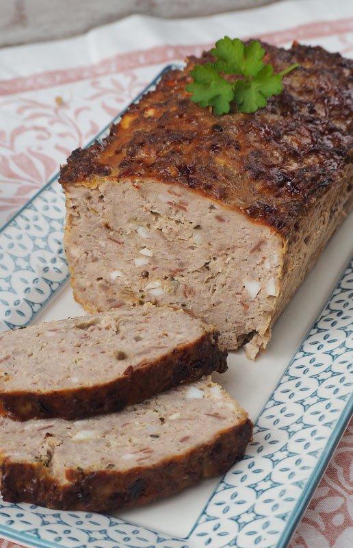 como hacer pastel de 3 carnes facil y al horno