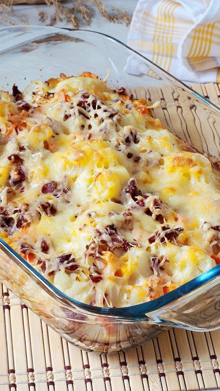 pastel salado de coliflor receta facil y rapida