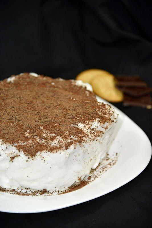 como preparar tarta de galletas para cumpleaños