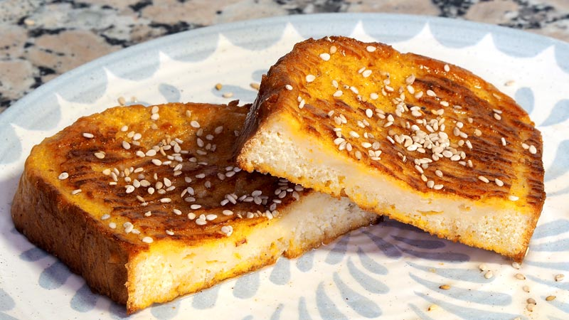 paso a paso torrijas de leche al horno con vino y almibar de miel y naranja
