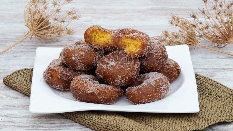 receta dulce de roscos de naranja fritos
