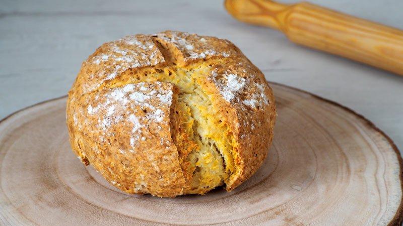 pan rapido sin levadura y sin masa madre receta facil