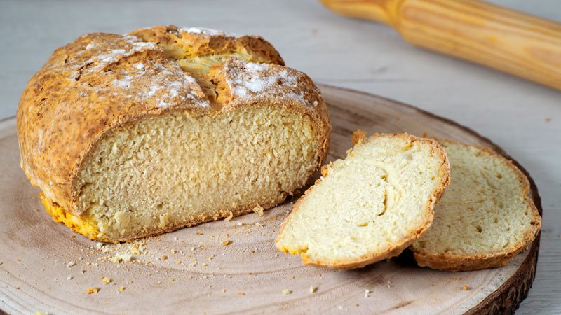como hacer pan rapido sin levadura y sin masa madre
