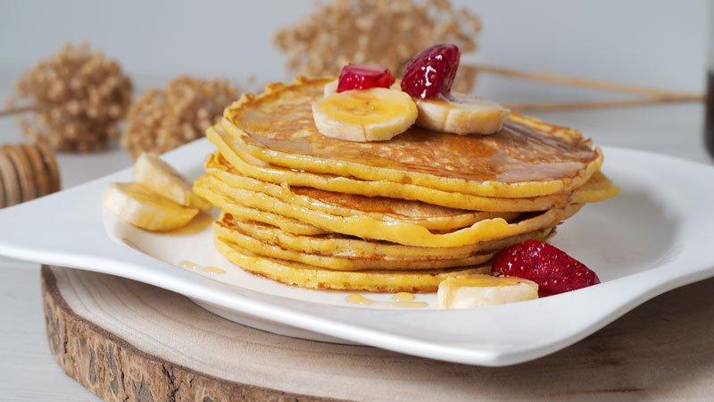 como preparar tortitas, panqueques o pancakes