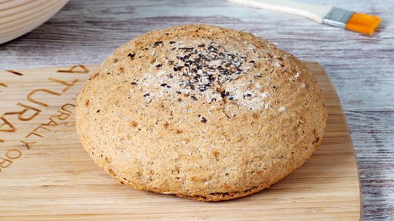 receta de pan integral paso a paso con levadura fresca
