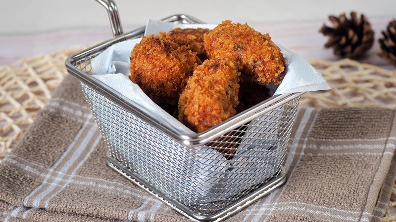 croquetas de setas y jamon receta facil y crujiente