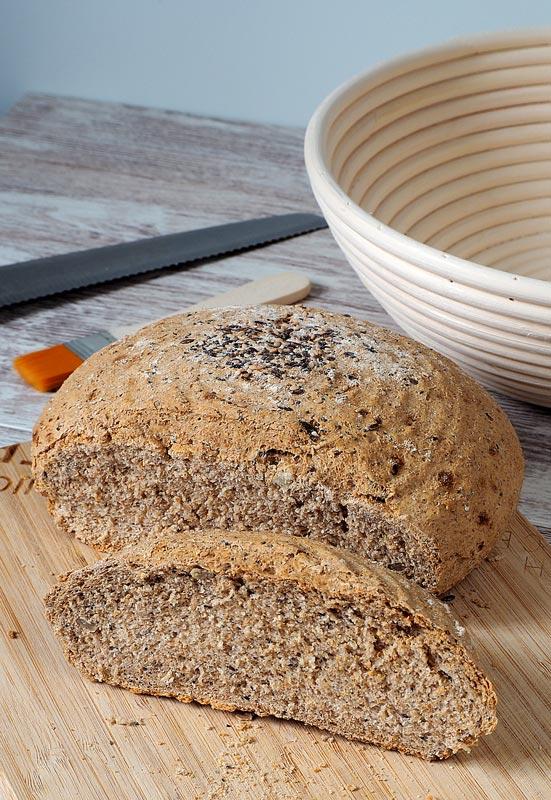 como preparar pan integral casero