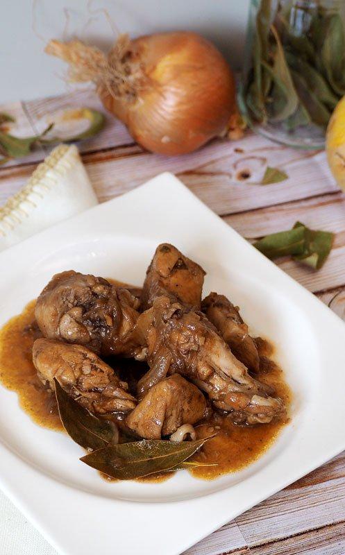pollo con cebolla caramelizada receta facil