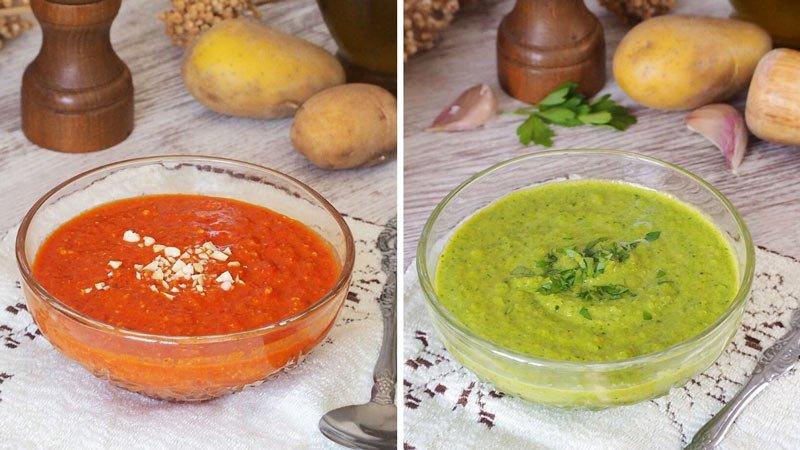 recetas salsas mojo rojo y mojo verde