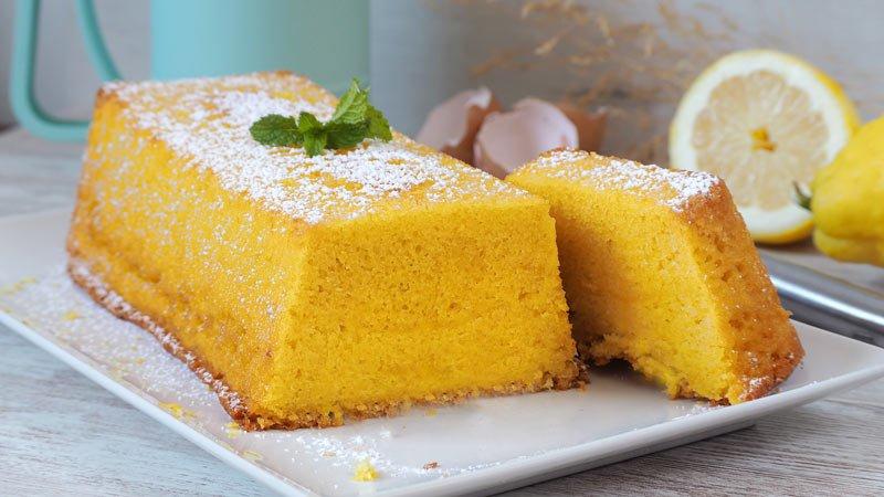 receta de pastel de yogur y limón facil