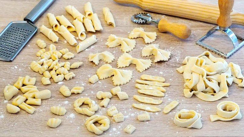 como hacer pasta fresca casera sin huevo