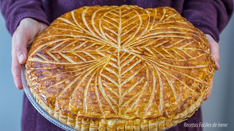 como se hace tarta de reyes o galette de rois