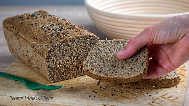 receta de pan de centeno casero