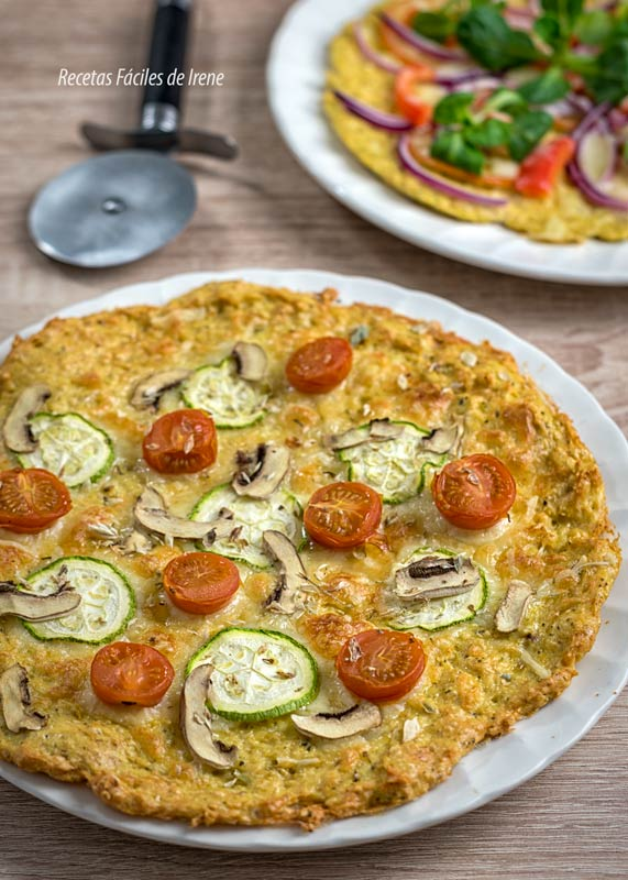 pizza con base de pollo receta de pizza realfooder al horno