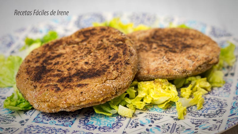receta saludable de hamburguesa vegana de trigo sarraceno