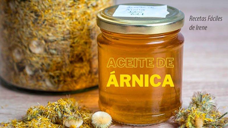 como hacer aceite de arnica montana, oleato o macerado de arnica