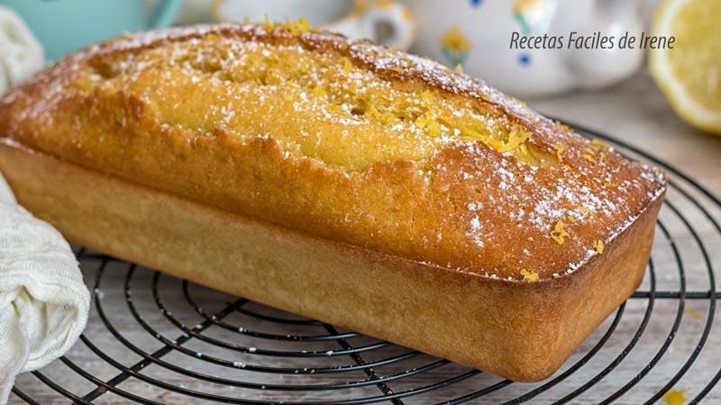 receta cake de limon delicioso y jugoso