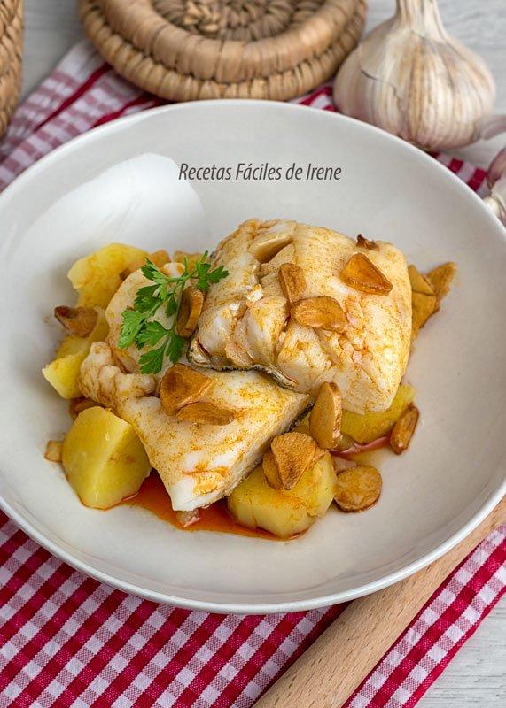 receta de bacalao a la gallega fácil y rápida
