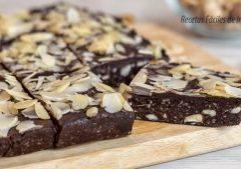 receta brownie sin horno saludable dulce facil