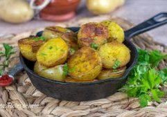 receta de patatas a la sarten