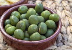 receta de aceitunas en cáustica + truco para salmuera