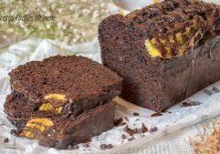como hacer pan de platano y chocolate saludable sin azucar